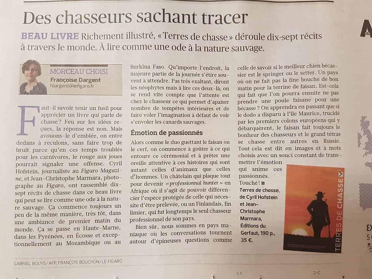Terres de chasse Figaro 08 11 2018