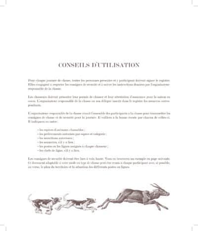 carnet de chasse 2