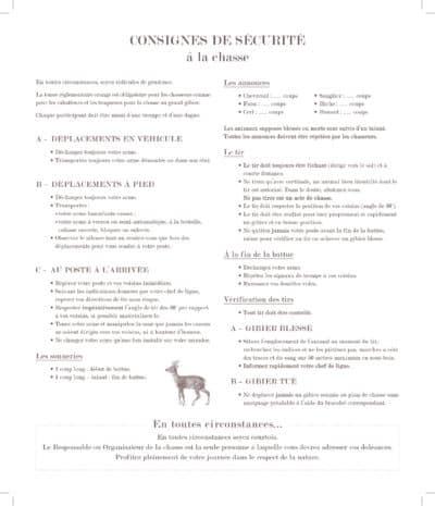 carnet de chasse 3