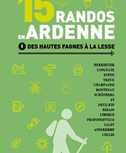 15 randos en Ardenne 2021 tome1 éditions du gerfaut