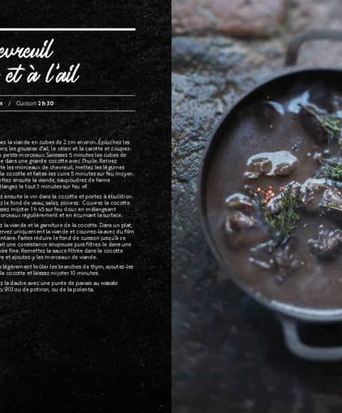 cuisiner le chevreuil livre de recettes