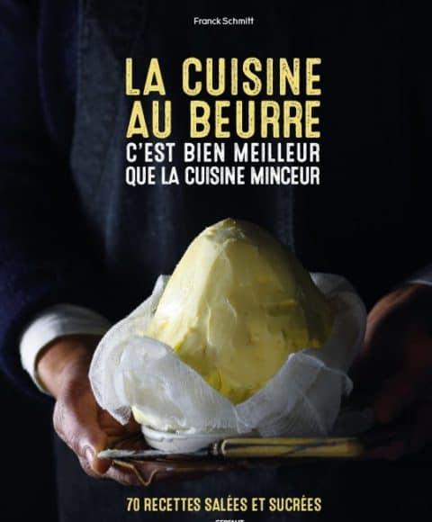 la cuisine au beurre livre recette couverture