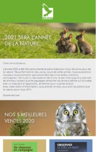 newsletter editions du gerfaut